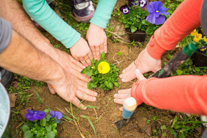 love working with your hands in the outdoors, gardening, landscape