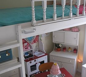 Lofted Cottage Bed For Our Little Girl S Dream Room, Bedroom Ideas, Diy, ...