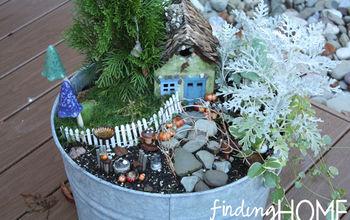 A Fall Fairy Garden
