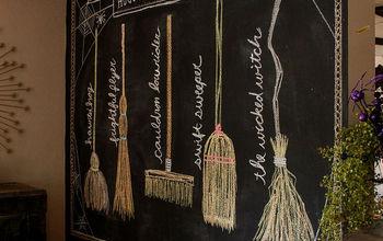 Hocus Pocus Broom Co. - Fall Inspired Chalkboard Design