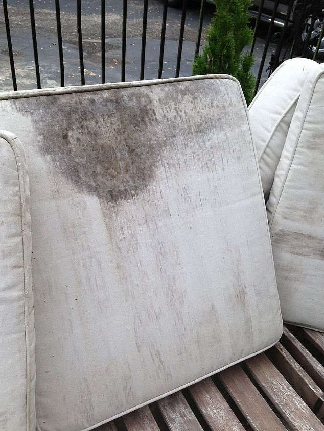 How To Rehab Your Outdoor Furniture And Stained Cushions Living