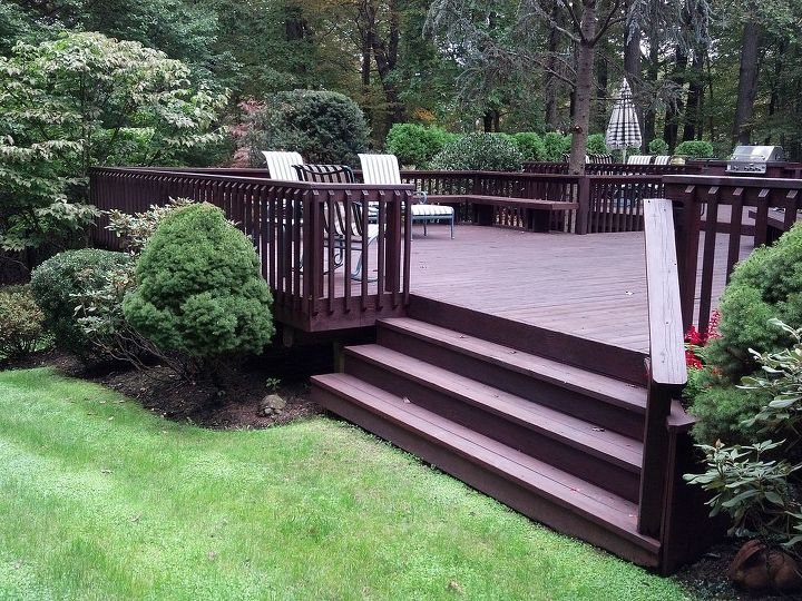Classic Deck and Patio Company wide stairs