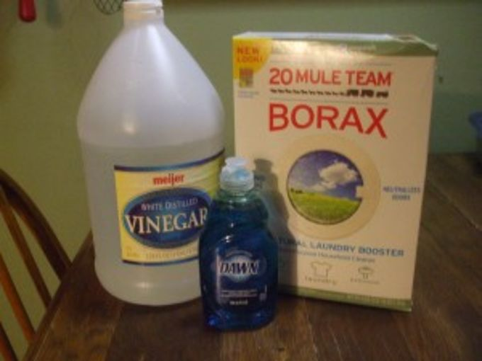What's the recipe for borax and vinegar for cleaning ...