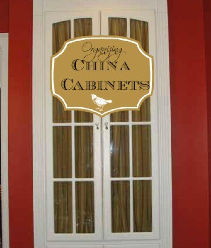 china cabinet organizing, kitchen cabinets, organizing