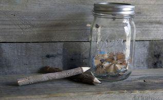 diy mason jar pencil sharpener, crafts, mason jars, repurposing upcycling