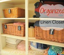 great linen closet organizing tips, closet, organizing