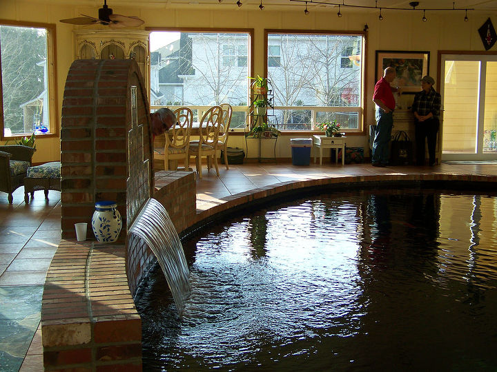 I Designed And Built This Koi Pond For My Clients Show