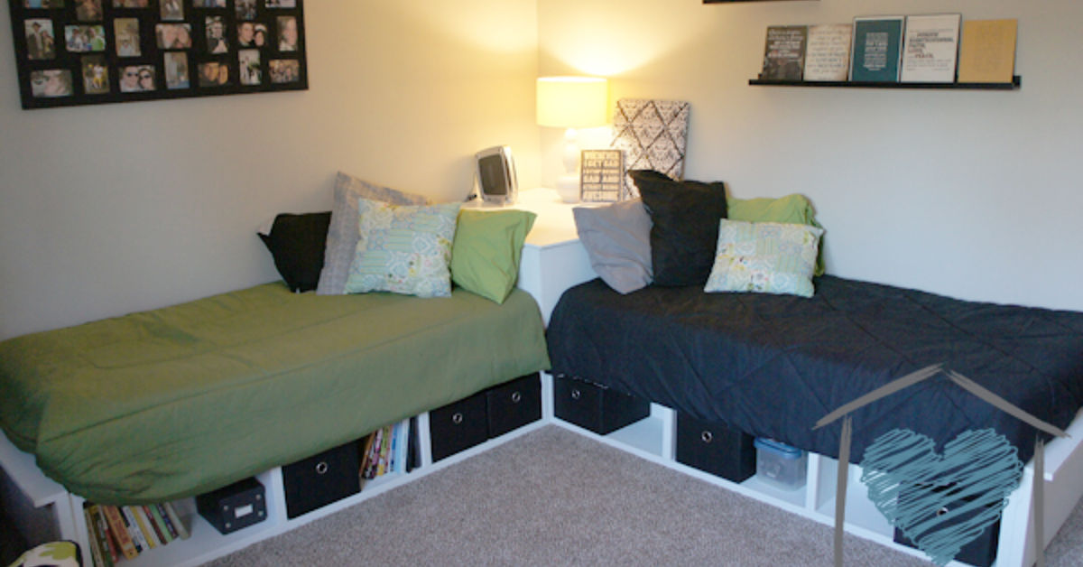 Diy Corner Storage Beds Hometalk