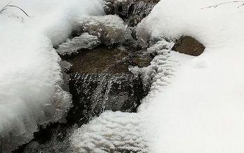 Water Feature Winter Maintenance