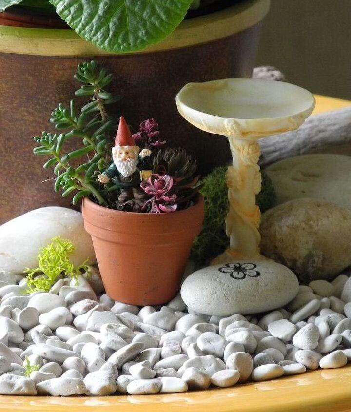 And you can include fun miniature garden ideas too!