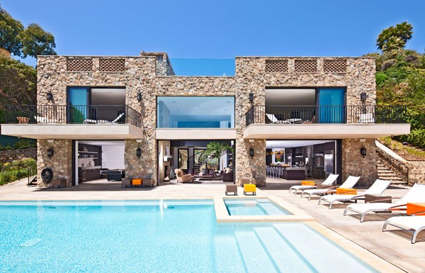 imposing modern residence in malibu by the ocean, architecture, home decor