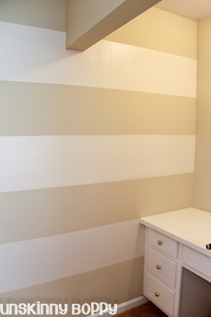 My Lazy Girl\'s Guide to Painting Striped Walls | Hometalk