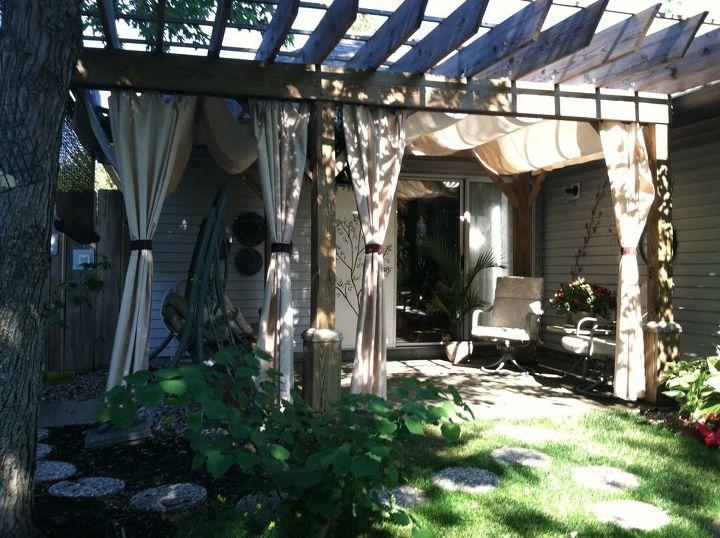 my daughter s garden in indianapolis, decks, gardening, outdoor living, So peaceful