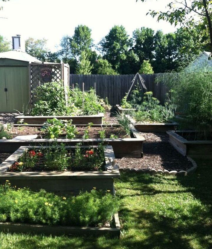 my daughter s garden in indianapolis, decks, gardening, outdoor living