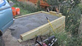 Concrete Bag Retaining Wall Hometalk