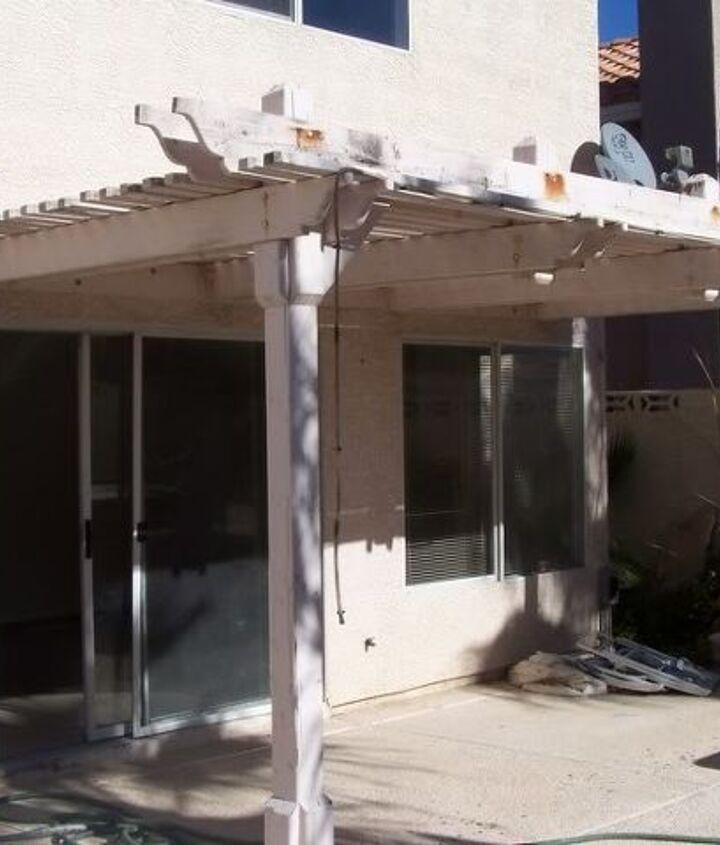 q 100 quick patio fix, outdoor living, patio