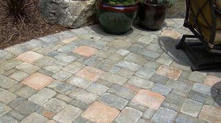 q pavers or flagstone im in the process or building a fairly large patio in my, concrete masonry, gardening, landscape, outdoor living