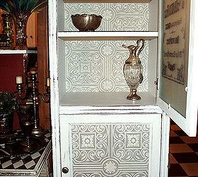 Farmhouse Coffee Pantry French Armoire From Curbside Junk, Chalk Paint,  Painted Furniture, Repurposing