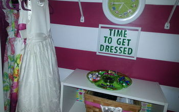 amber lee s room reveal, bedroom ideas, home decor, storage ideas, Closet Space