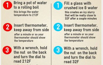 2 easy ways to calibrate a dial thermometer, home maintenance repairs, hvac, INFOGRAPHIC 2 Easy Ways to Calibrate a Dial Thermometer