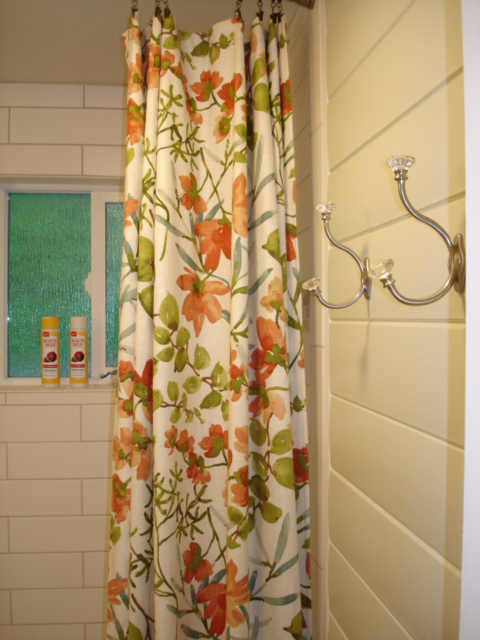 Here is the after shot. This bathroom makeover is mostly cosmetic but it looks great.