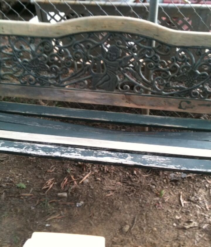 Old Bench Picture 2