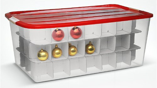 how to organize christmas once and for all, organizing, seasonal holiday decor, wreaths, I ve used several types of storage boxes for ornaments and from my experience the ones with hard sides work best as opposed to a few on the market with soft sides because they don t protect as well and can be fussy to use