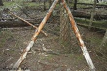 how to use a survival paracord net to make a hammock chair, homesteading, outdoor living, repurposing upcycling