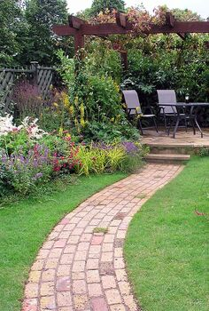 4 tips for landscape design success, landscape, Give yourself a place to go and a way to get there
