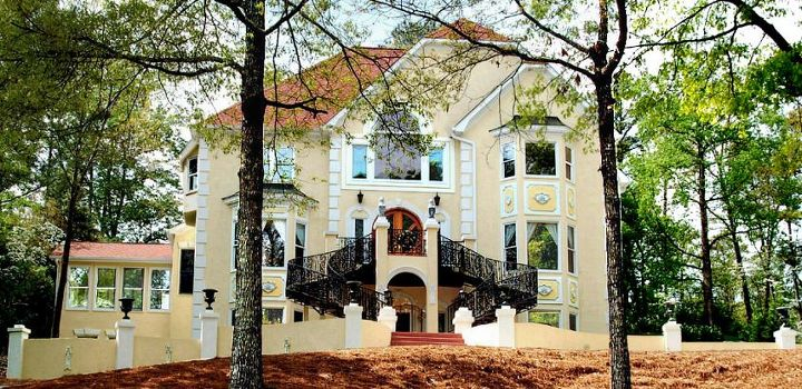 the website that david frohman created for his renovated home in roswell, curb appeal, home decor
