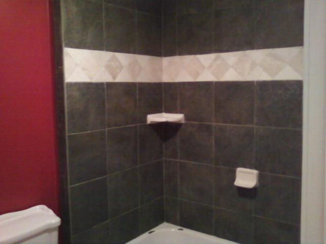 Finished shower.