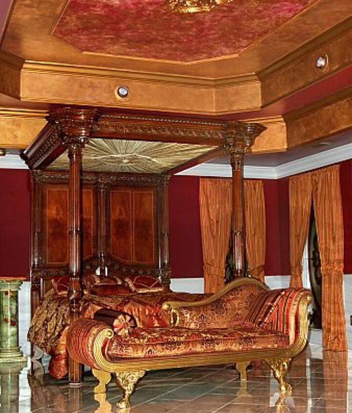 """.. view No. 1 of the """"Napoleon Suite"""" at Fontainebleau. You don't have to be an emperior to say here, but you will certainly feel like one after you do, ha ha!"""