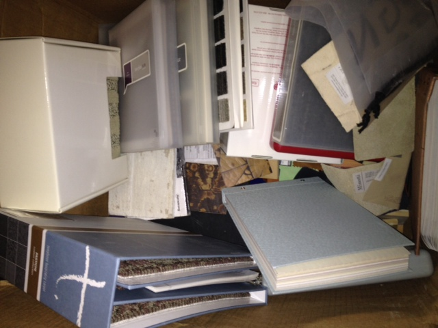 we are clearing out our design library for a move does any crafty person have a need