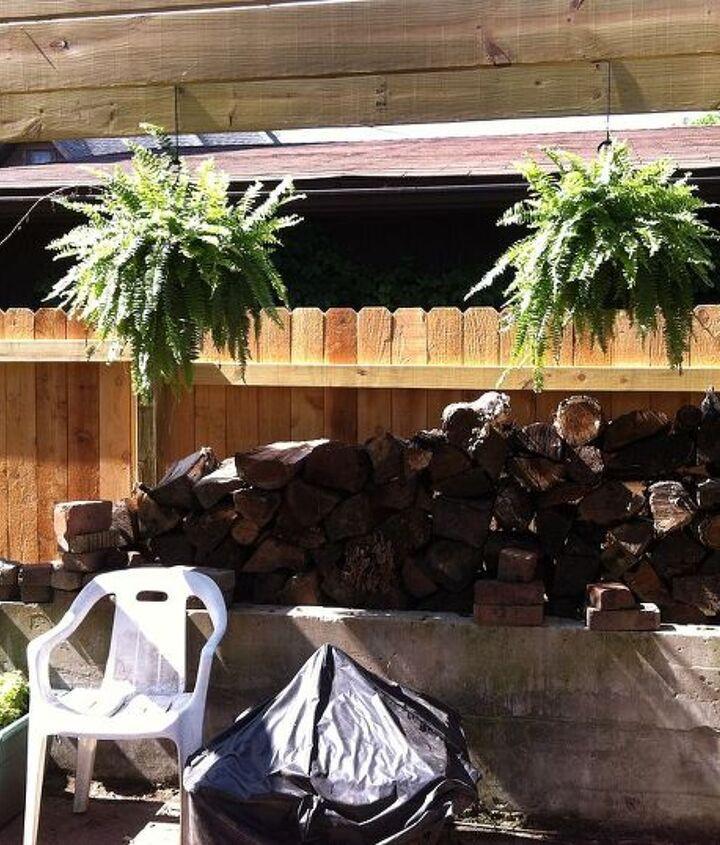 from dilapidated garage to the start of our english garden, decks, garages, gardening, outdoor living