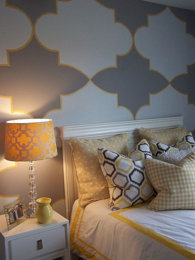 decorative wall treatments, home decor, painting, wall decor