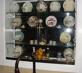 Lighted Kitchen Window Teacup and Saucers Curio Cabinet | Hometalk