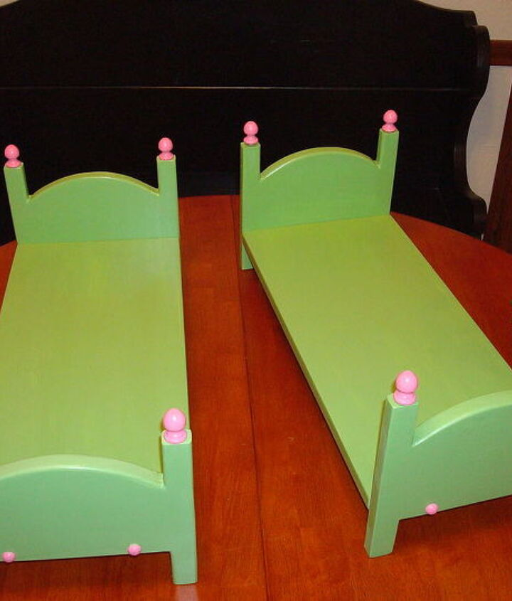 Bulit beds for my Grand-daughters who each have American Girl Dolls