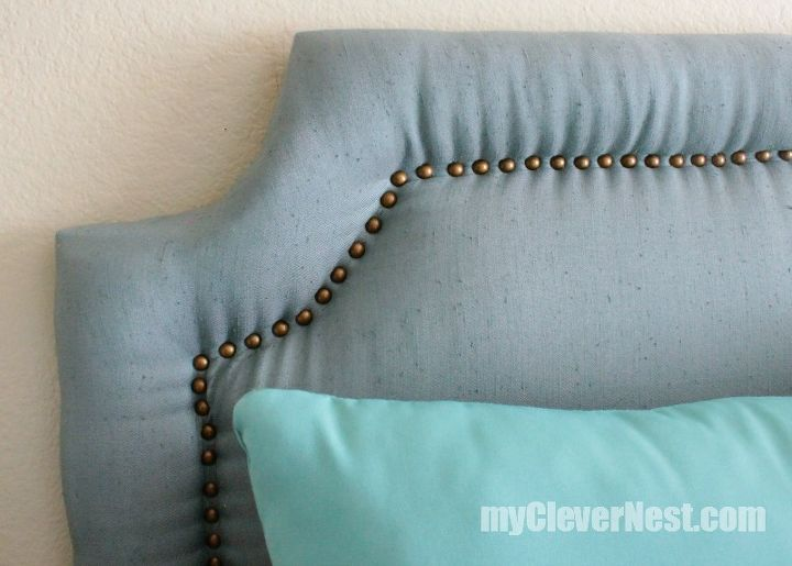 Working with nailheads was so aggravating at first! But the longer I stuck with it, I got my system down :)