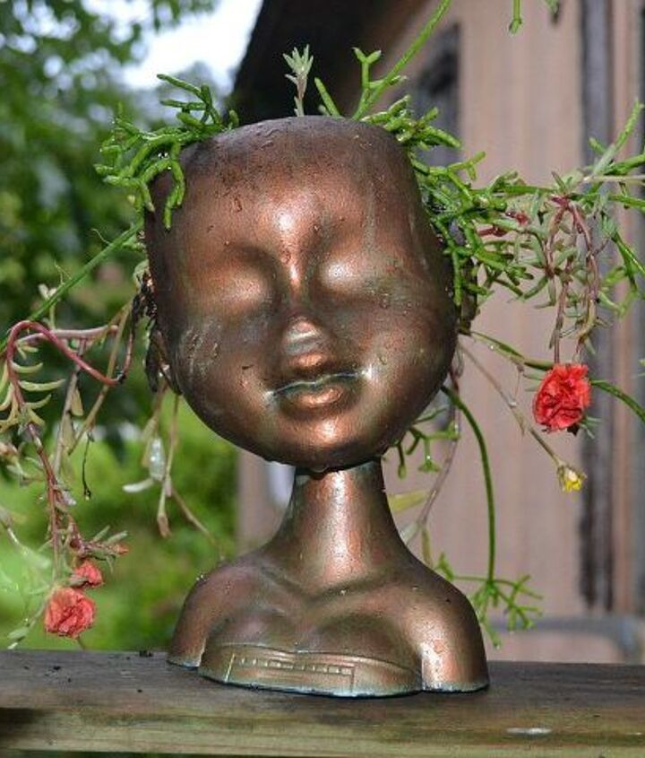 This is finished head planter.