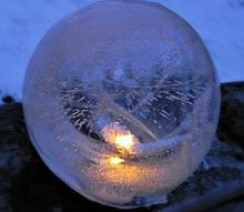 fire and ice lanterns, crafts, lighting, Fire and Ice Lanterns