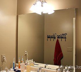 Marvelous How To Frame A Builder Grade Bathroom Mirror, Bathroom Ideas, Diy, Home  Improvement