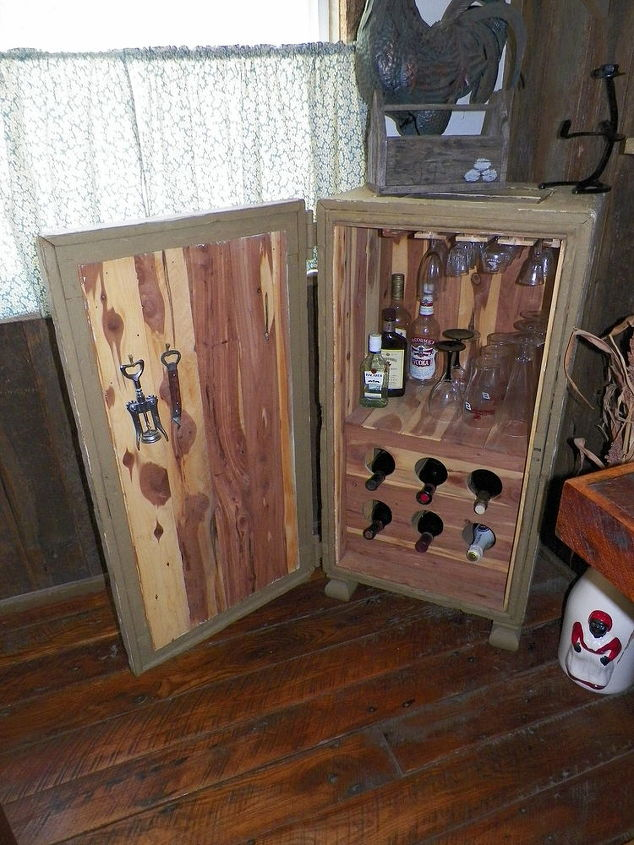 Restored Old Horse Tack Trunk To Liquor Cabinet Hometalk