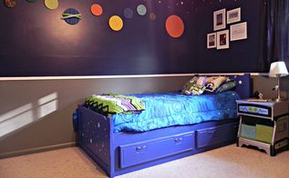super space geek bedroom, bedroom ideas, home decor, DIY Super Space Geek Bedroom