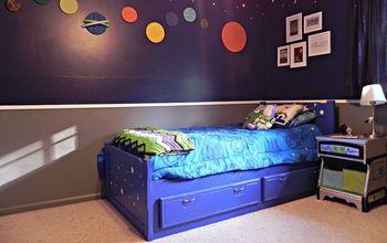 Super Space Geek Bedroom