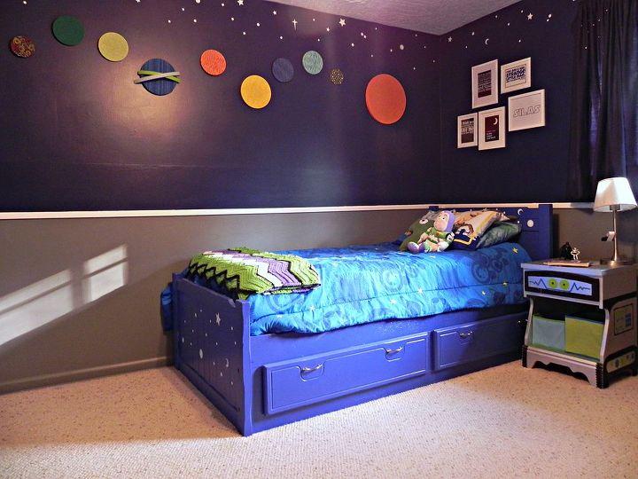 DIY Super Space Geek Bedroom