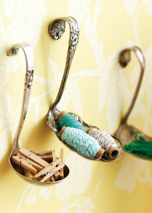 amazing ways to repurpose old items, repurposing upcycling, Spoon Holders