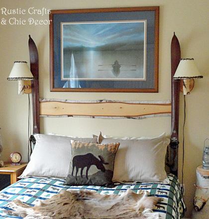 easy diy headboard, bedroom ideas, diy, painted furniture, repurposing upcycling, rustic furniture