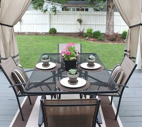Back Deck Makeover Pergola Reveal, Decks, Fireplaces Mantels, Outdoor  Furniture, Outdoor Living