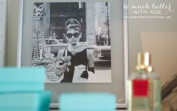 Audrey Hepburn Inspired Closet