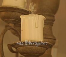 how to make faux candles, crafts, repurposing upcycling, Finished candle cover